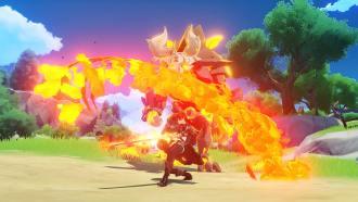 Com os elementos e habilidades, o combate é interessante e artístico.